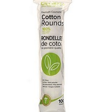 Premium Cotton Rounds 100 Pack Photo