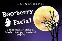 Skin Script Boo-Berry Facial Set Photo