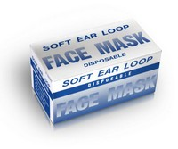 Disposable Face Mask with Earloops 50 Pack Photo