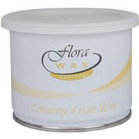 Flora Shea Butter Cream Wax 14oz Photo