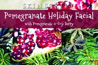 Skin Script Pomegranate Holiday Facial Photo